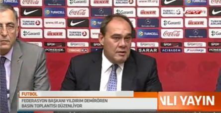 TFF Terim'e sahip çıktı, Galatasaray'ı suçladı