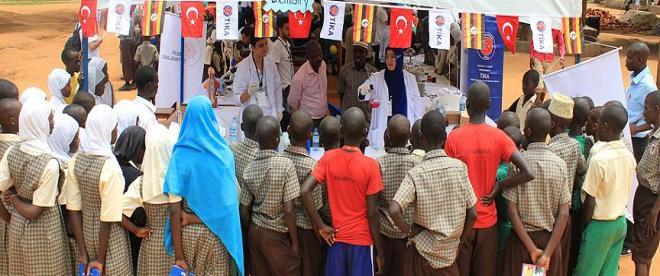 TİKAnın gönüllü elçileri Ugandada