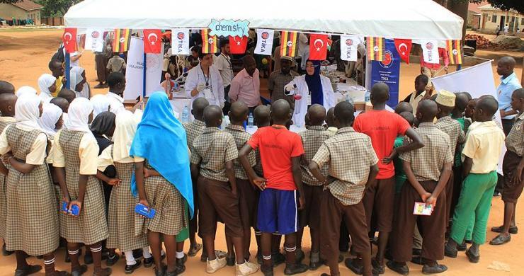 TİKA'nın gönüllü elçileri Uganda'da
