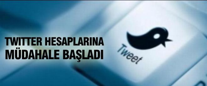 Twitter, o hesaplara müdahale ediyor
