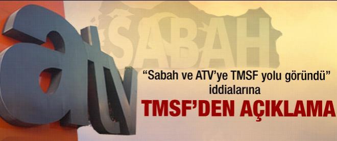 TMSF'den Sabah - ATV satışı açıklaması