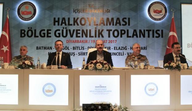 """Diyarbakırda """"Halk Oylaması Güvenlik Toplantısı"""""""