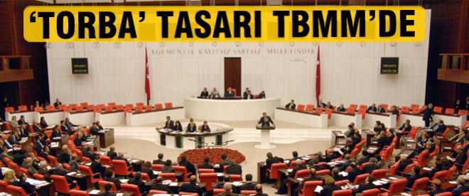 """""""Torba tasarı"""" TBMM Genel Kurulu'nda"""