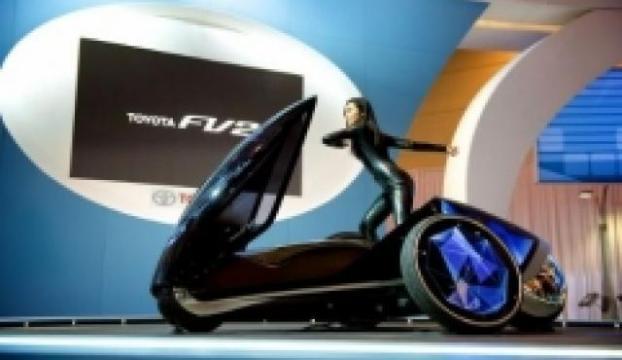 Toyotadan direksiyonsuz otomobil: Toyota FV2 Concept