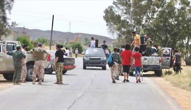 Trablusun güneybatısındaki Mizde kenti Libya hükümetine desteğini açıkladı