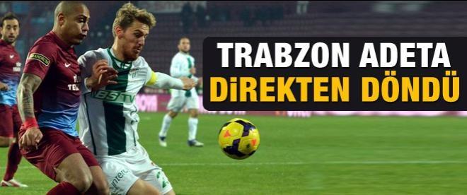 Trabzon direkten döndü