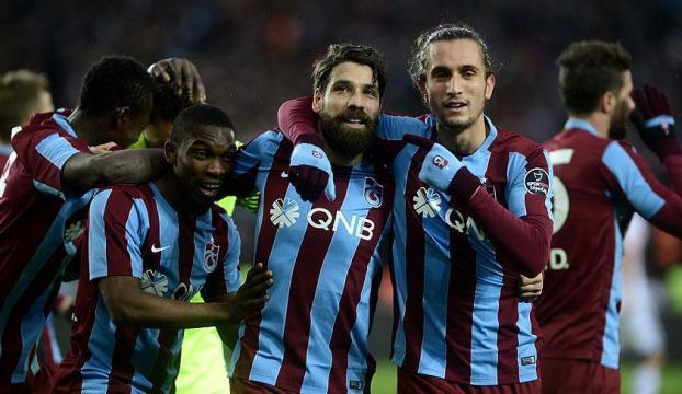 İkinci devrenin lideri Trabzonspor