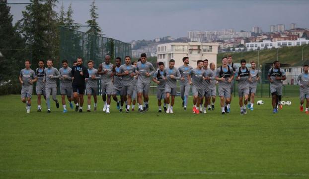 Trabzonsporda Denizlispor maçı hazırlıkları sürüyor