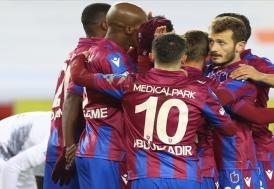 Trabzonspor 3 puanı 3 golle kaptı