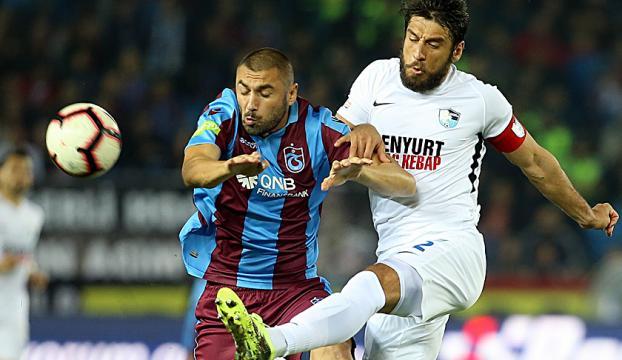 Trabzonda golsüz beraberlik