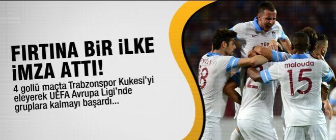Trabzonspor UEFA Avrupa Ligi gruplarında!