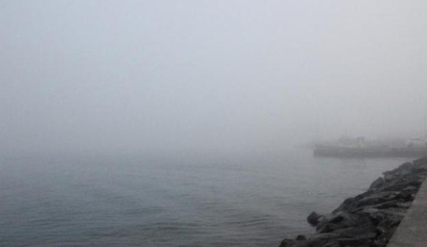 Trafiğe sis engeli