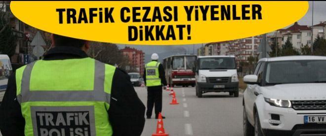 Trafik cezası yiyenlere müjdeli haber
