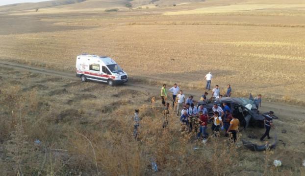 Kırşehirde trafik kazası: 1 ölü, 2 yaralı