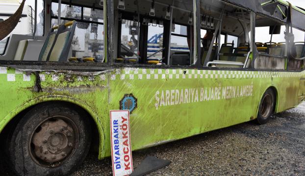 Diyarbakırda halk otobüsü devrildi: 21 yaralı