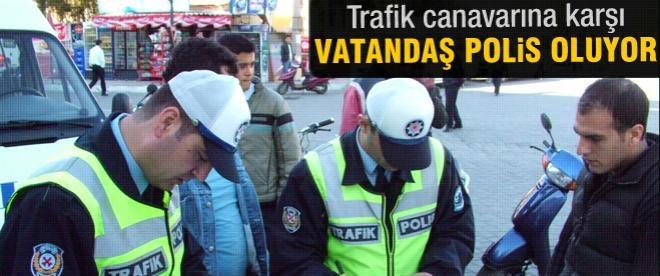 Trafikte yeni dönem! Herkes polis olabilecek