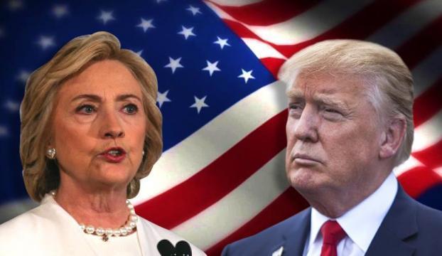 ABDde anketler Clintonı gösteriyor