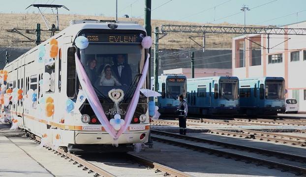 Bu da gelin tramvayı!