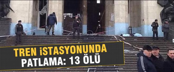 Rusya'da intihar saldırısı: 13 ölü