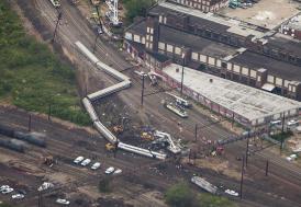 Pennsylvania'da tren kazası: 33 yaralı