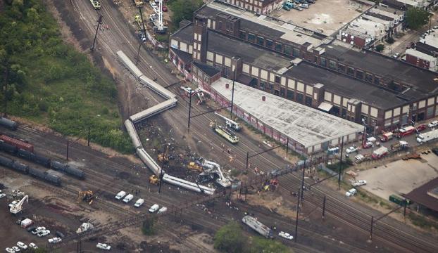 Pennsylvaniada tren kazası: 33 yaralı