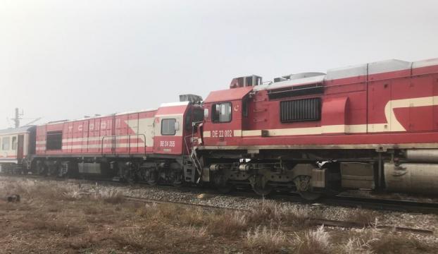 Sivasta tren kazası