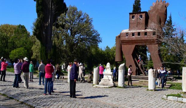 Dünya kültür mirası Troya yeniden canlanıyor