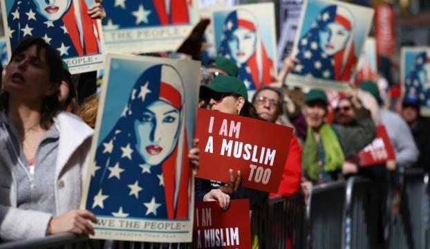 Newyork ve Chicagoda Trump karşıtı gösteri