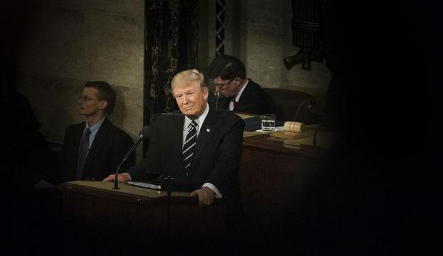 Trump ilk kez ABD Kongresinin karşısına çıktı