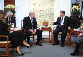 ABD Başkanı Trump Çin'de