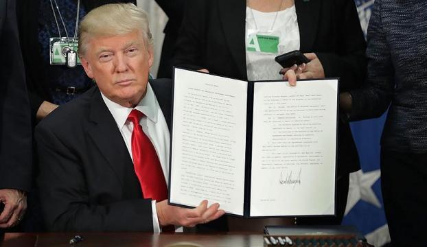 Trump, göçmenlere yönelik yeni kararname sunacak