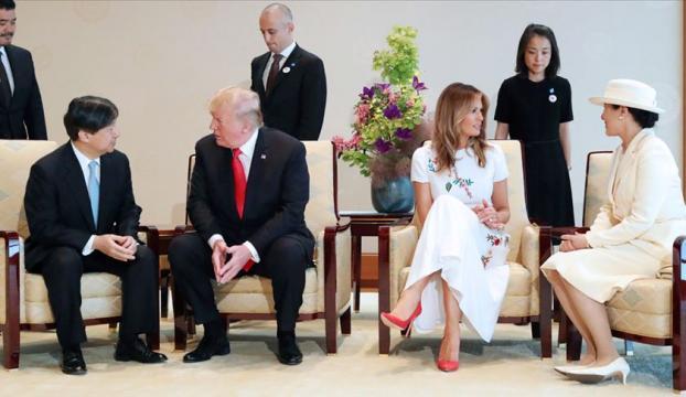ABD Başkanı Trump Japonyada