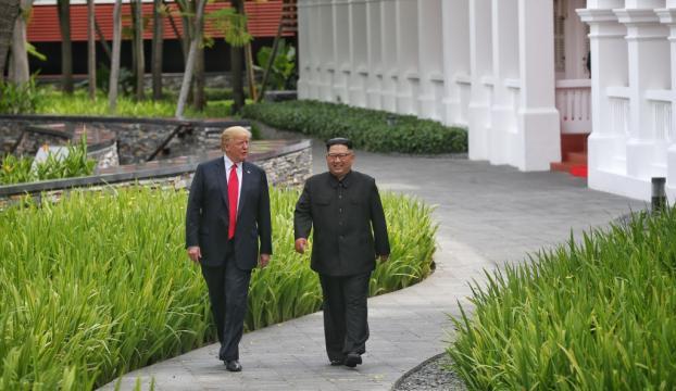 Trump-Kim zirvesi uzlaşmayla sona erdi