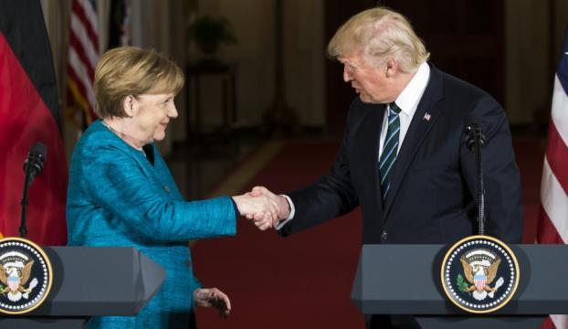Trump-Merkel Basın Toplantısı