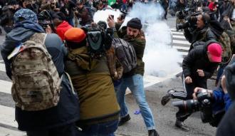 ABD'deki Trump karşıtı gösterilerde şiddet tırmanıyor