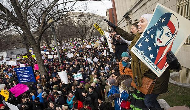 ABDde Trump karşıtı protesto gösterileri devam ediyor