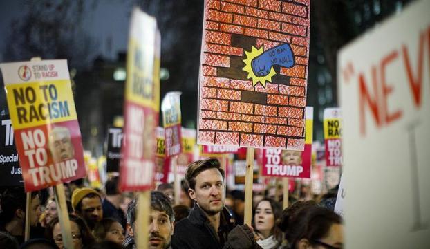 New Yorkta Yahudilerden Trump karşıtı miting