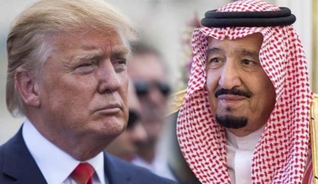 Trump, Suudi Arabistan Kralı Selman ile telefonda görüştü
