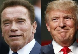 Trump şimdi de Schwarzenegger'e çattı