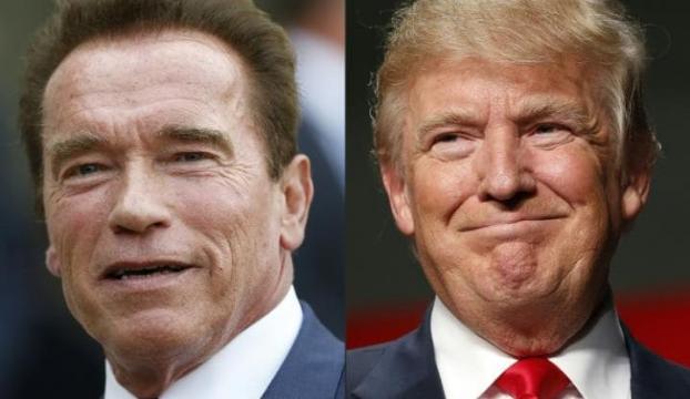 Trump şimdi de Schwarzeneggere çattı