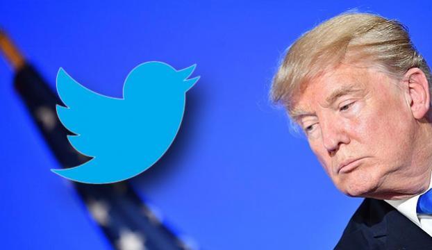 """Trumpın Twitter hesabı kısa süreliğine """"yanlışlıkla kapatıldı"""""""