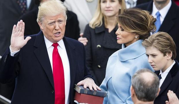Donald Trump artık resmen başkan