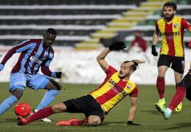 Trabzonspor, üstünlüğünü koruyamadı