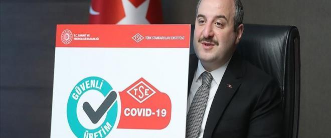 Kovid-19 TSE Güvenli üretim belgesi tanıtıldı
