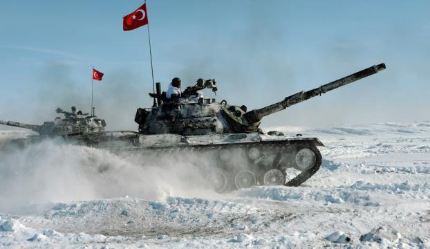 "TSKdan Karsta ""Kış Tatbikatı"""