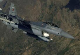 Irak'ın kuzeyinde 12 hedef imha edildi