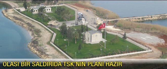 TSK'nın, olası saldırı için planı hazır