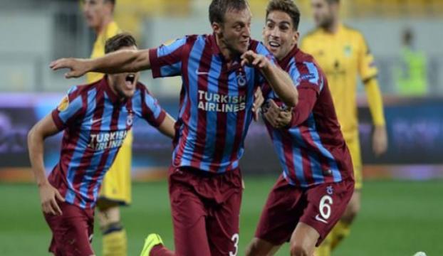 Trabzonda ilk yarıda tek gol!