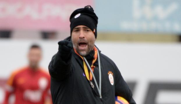 Tudor Galatasarayın Florya tesislerinde ilk hazırlığına çıktı