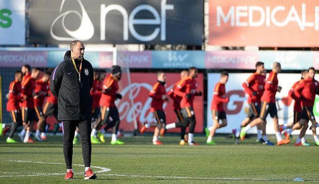 Galatasaray, Atatürk Olimpiyat Stadında çalıştı